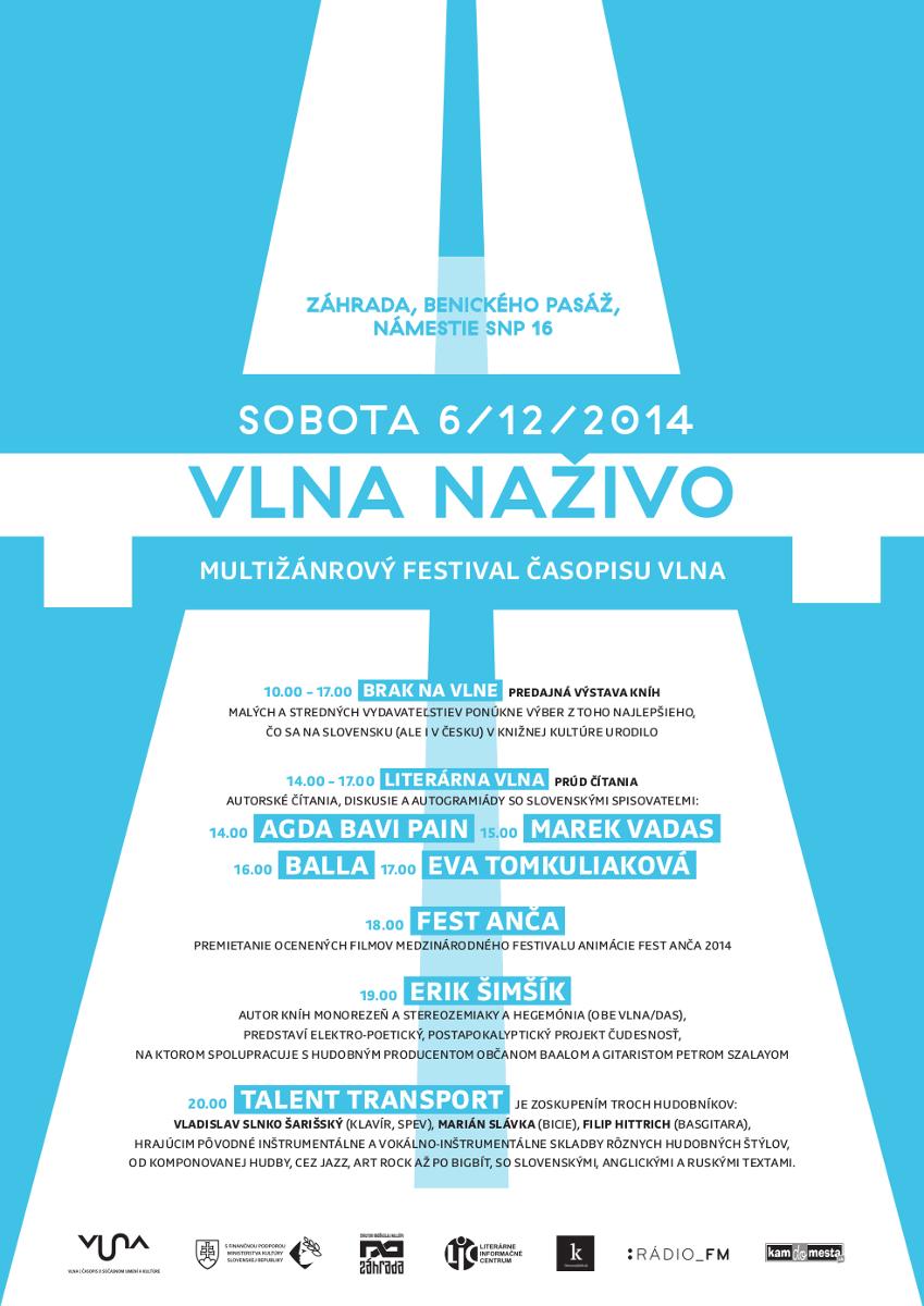 Vlna naživo - Banská Bystrica - plagát